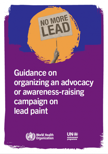 Guidance on organizing an advocacy or awareness-raising campaign on lead paint