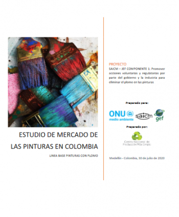 Market Analysis of the paint industry in Colombia (Draft / Spanish only)