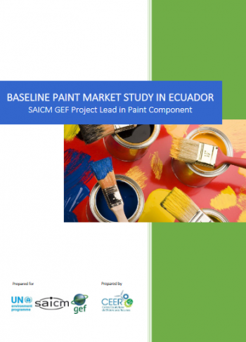 Baseline paint market study in Ecuador (English / Spanish)