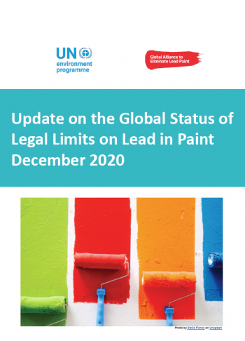 Update on the Global Status of Legal Limits on Lead in Paint