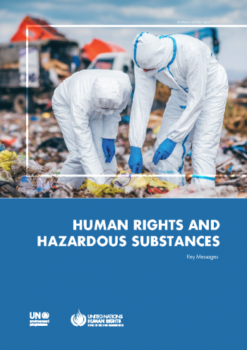 Key Messages on Human Rights and Hazardous Substances