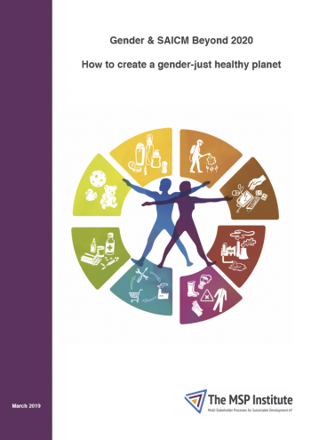Gender & SAICM Beyond 2020: How to create a gender-just healthy planet