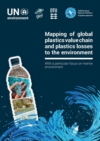 Mapping of Global Plastics Value Chain and Plastics Losses to the Environment: With a Particular Focus on Marine Environment