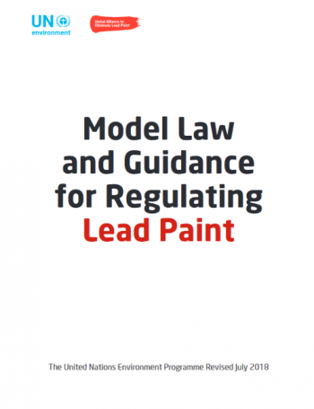 Model Law and Guidance for Regulating Lead Paint