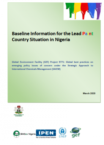 Baseline Information for the Lead Paint Country Situation in Nigeria
