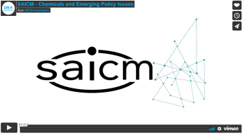 SAICM - Chemicals and Emerging Policy Issues