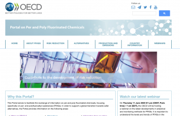Portal on Per and Poly Fluorinated Chemicals