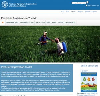Pesticide Registration Toolkit