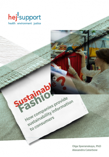 Sustainable Fashion? How companies provide sustainability information to consumers